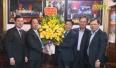Bí thư tỉnh ủy thăm và chúc Tết doanh nghiệp