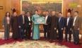 Trao 30 tỷ đồng hỗ trợ xây dựng chùa Vĩnh Nghiêm