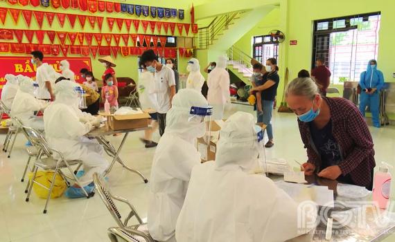 Bắc Giang: Hướng dẫn tạm thời các biện pháp xét nghiệm, cách ly y tế phòng, chống dịch COVID-19