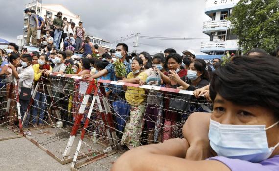Myanmar thả hơn 5.000 tù nhân bị bắt sau chính biến
