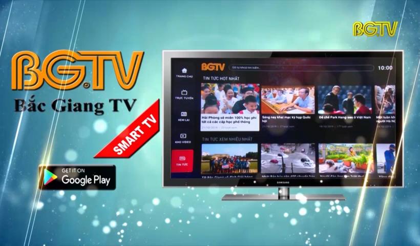Ứng dụng BGTV GO trên Smart TV
