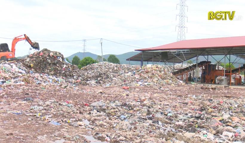 Yên Dũng: Nỗ lực xử lý rác thải - Hoàn thiện tiêu chí môi trường