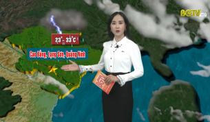 Bản tin thời tiết ngày 06 - 09 - 2021