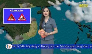 Bản tin thời tiết ngày 08 - 09 - 2021