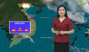 Bản tin thời tiết ngày 08 - 10 - 2021