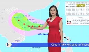Bản tin thời tiết ngày 09 - 09 - 2021