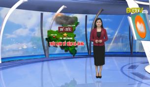 Bản tin thời tiết ngày 15 - 10 - 2021