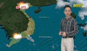 Bản tin thời tiết ngày 22 - 08 - 2021