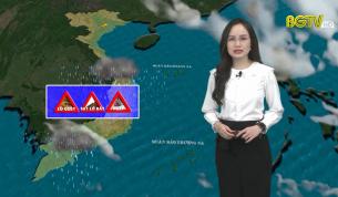 Bản tin thời tiết ngày 24 - 09 - 2021