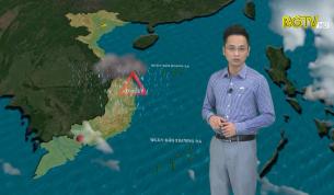 Bản tin thời tiết ngày 24 - 10 - 2021