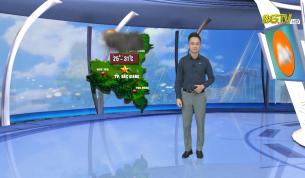 Bản tin thời tiết ngày 26 - 08 - 2021