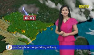 Bản tin thời tiết ngày 27 - 09 - 2021