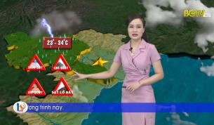 Bản tin thời tiết ngày 28 - 08 - 2021