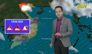 Bản tin thời tiết ngày 29 - 08 - 2021