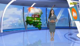 Bản tin thời tiết ngày 29 - 09 - 2021