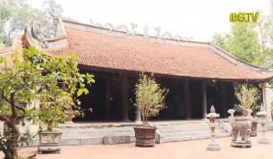 Cửa Võng đình Thổ Hà: Bảo vật quốc gia