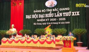 Đại hội Đại biểu Đảng bộ tỉnh Bắc Giang lần thứ XIX thành công tốt đẹp