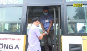Đảm bảo an toàn phòng, chống dịch trong hoạt động vận tải hành khách