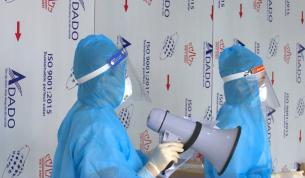 Đoàn Y tế Bắc Giang hoàn thành hỗ trợ Tây Ninh phòng chống dịch