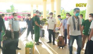 Đoàn y tế Bắc Giang hoàn thành hỗ trợ TP.HCM và Bình Dương chống dịch