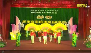 Hội thi Nhà văn hoá tiêu biểu tỉnh Bắc Giang năm 2021
