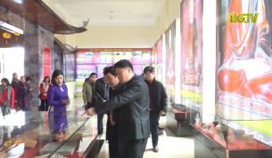 """Khai mạc trưng bày chuyên đề: """"Bắc Giang - Vùng đất thiêng"""""""