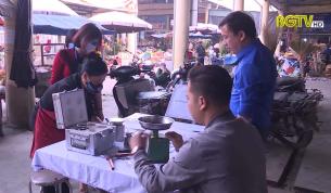 Khoa học và Công nghệ: Tăng cường kiểm định cân lò so lưu động tại các chợ