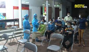 Phó Chủ tịch UBND tỉnh Phan Thế Tuấn kiểm tra công tác phòng chống dịch Covid-19 tại Việt Yên