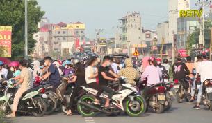 Mất ATGT tại hầm chui dân sinh đường gom cao tốc Hà Nội - Bắc Giang