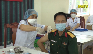 Sơn Động: Đảm bảo an toàn tiêm vắc xin, phòng chống Covid-19