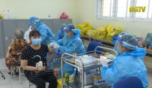 Thành phố Hà Nội tiếp tục tiêm vắc xin Sinopharm cho người dân