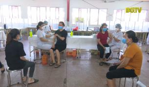 TP. Bắc Giang: Tiêm vắc xin Vero Cell diện rộng