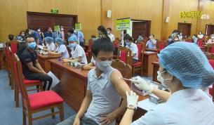 Triển khai tiêm vắc xin Vero Cell cho công nhân